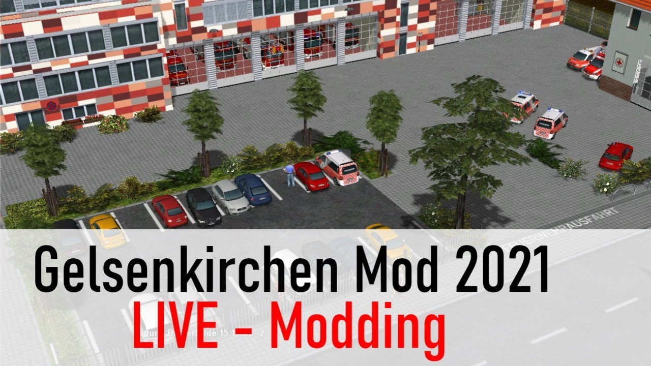 Emergency 4 Mappen | Wache umbauen |  Em4 Modding | Em4 Tutorial 12