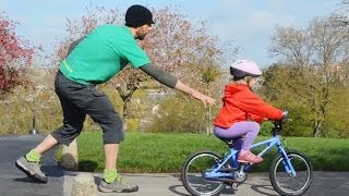 Teaching a child to ride without stabilisers - a how to guide for parents and teachers