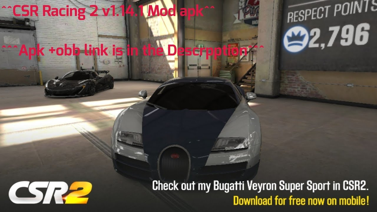 csr racing 2 hack apk revdl