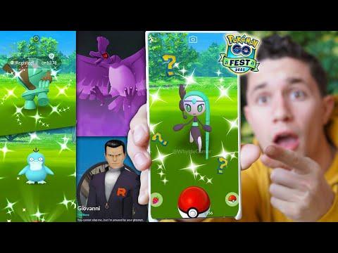 Download NEW * SHINY MELOETTA * in Pokémon GO?! Pokémon GO Fest 2021 Update!
