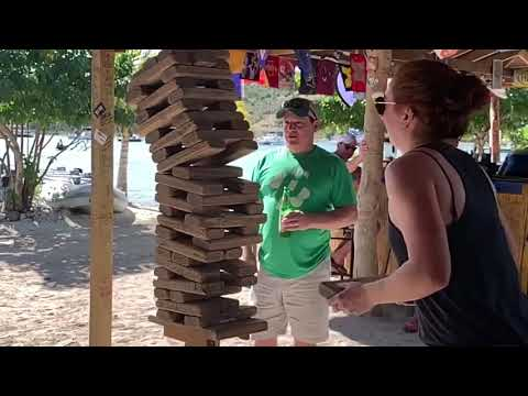 Joey Brooks - Craziest Jenga Move Ever