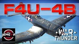 War Thunder Realistic: F4U-4B Corsair [Deadly]