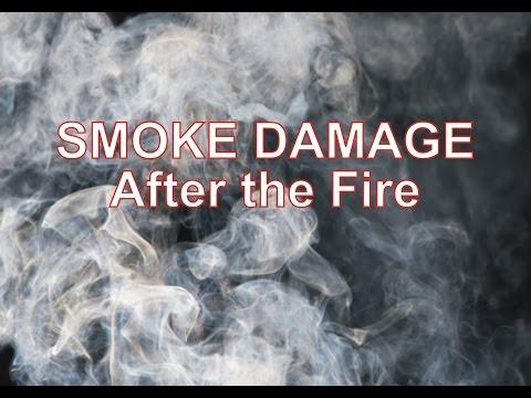 Smoke Damage After the Fire by Jimmy Garza Fire and Smoke Damage Restoration