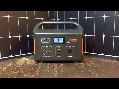 "my-19lbs-mobile-power-station---jackery-518wh,-24ah-battery-and-100w-panel-""out-of-the-box""-review"