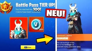 BATTLE PASS LEVEL 100 SKIN! | NEW SKINS & ITEMS! | Fortnite Battle Royale | The Fruit Dwarf