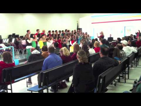 Brownwood Intermediate School choir and band Christmas concert
