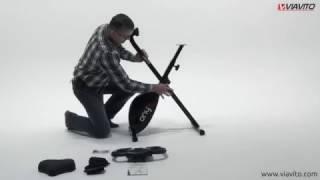 Viavito Onyx Folding Exercise Bike - Assembly Video