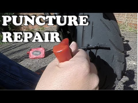 How To – Puncture Repair  |  Motorcycle Tyre Puncture