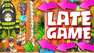 Bloons TD Battles ::  LATE GAME WITH MORTARS!! HOW LONG CAN WE HOLD IT !
