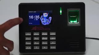 Intro Product I Ep.46 เครื่องสแกนลายนิ้วมือ Alpha Finger Scan ALP-7500 วิธีใช้งาน Video