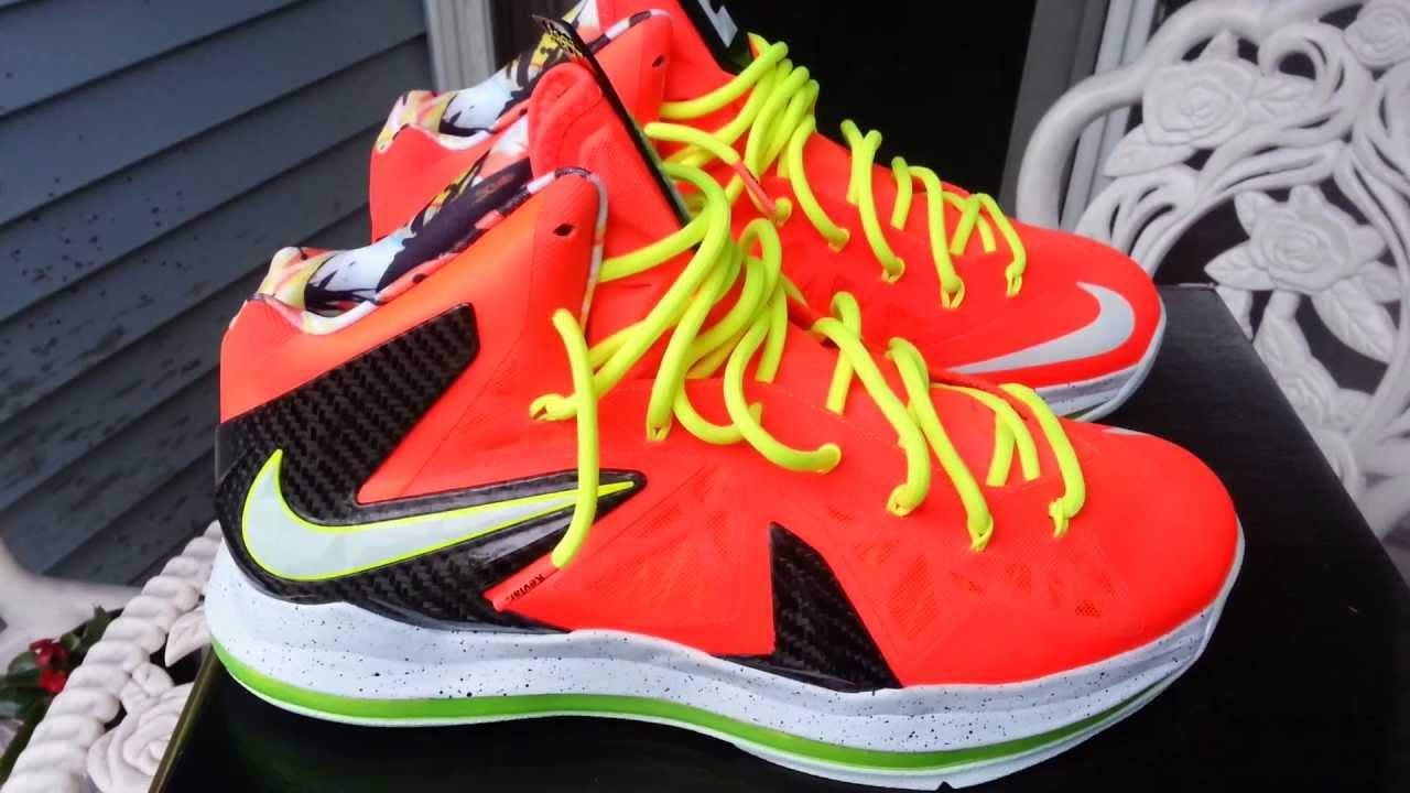 online store 696c8 821b7 Nike LeBron 10 Low Black Total Crimson