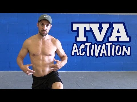 TVA Activation Exercises (How to TARGET the Transverse Abs)