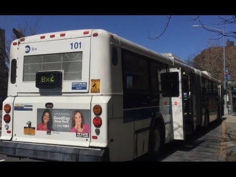 Mta Nyc Bus New Flyer D60hf 100 101 Bx1 Ltd Bx2 Buses