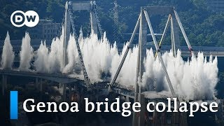 Italy: Morandi Bridge victims wait on in Genoa | Focus on Europe