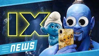 Star Wars 9: Was die Abschiedsfotos verraten & CGI-Disaster: Wird Aladdin ein Flop? - FLIPPS News