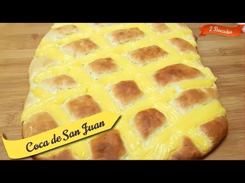 Coca de San Juan de Briox 🍪 Pan Dulce 🥧 Sweet Bread