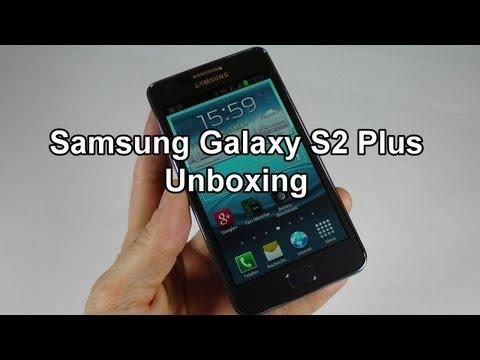 Samsung Galaxy S2 Plus Unboxing [Deutsch - German]