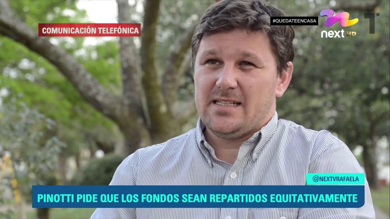 PINOTTI PIDE QUE LOS FONDOS SEAN REPARTIDOS EQUITATIVAMENTE