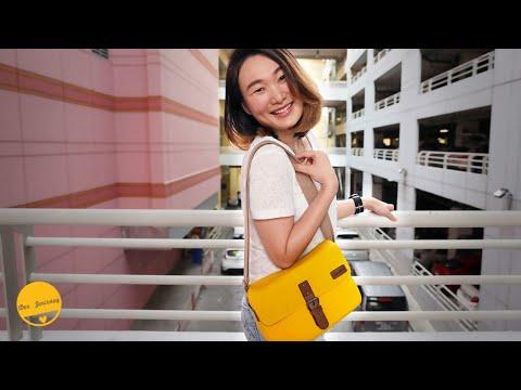 รีวิวกระเป๋ากล้อง Signature Bag กระเป๋ากล้องเก๋ๆ เท่มีซิคเนเจอร์ | Dee Journey
