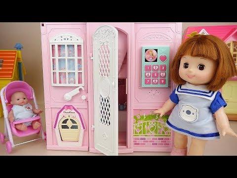 Baby doll house toys kitchen play Baby Doli
