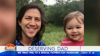 FATHERS DAY MAKEOVER | TODAY SHOW | FAYE DE LANTY
