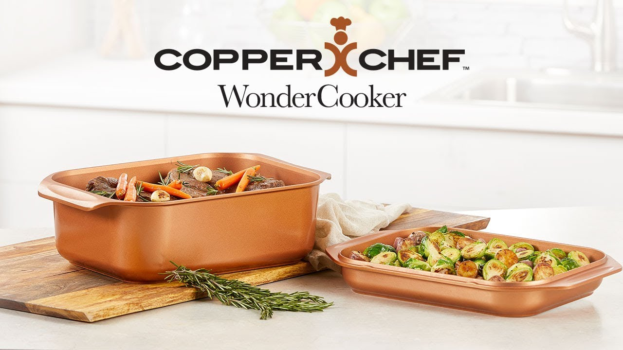 Copper Chef Wonder Cooker Replaces Your Regular Pans Youtube