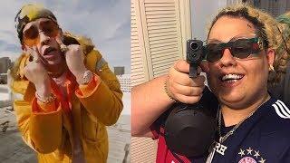 Fat Nick molesto con Bad Bunny por mencionar al fallecido Lil Peep