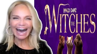 KRISTIN CHENOWETH sings during interview for THE WITCHES & a Halloween costume she wishes mom re-did