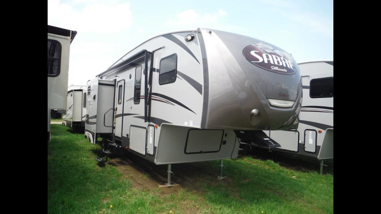 2016 Sabre Silhouette 330DDOK Luxury 5th Wheel At Camp Out RV In Stratford