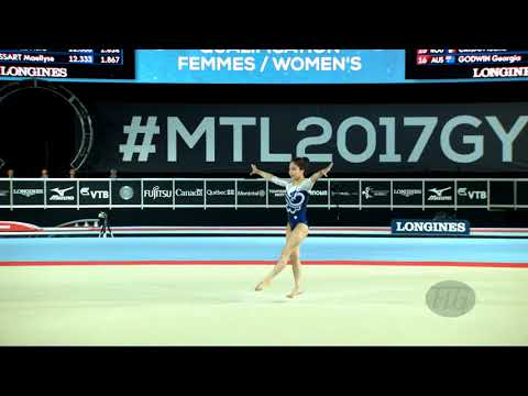 LEE Eun Ju (KOR) - 2017 Artistic Worlds, Montréal (CAN) - Qualifications Floor Exercise