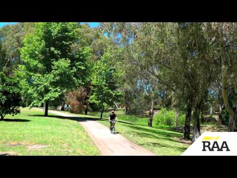 Adelaide's Linear Park - From the Hills to the City.