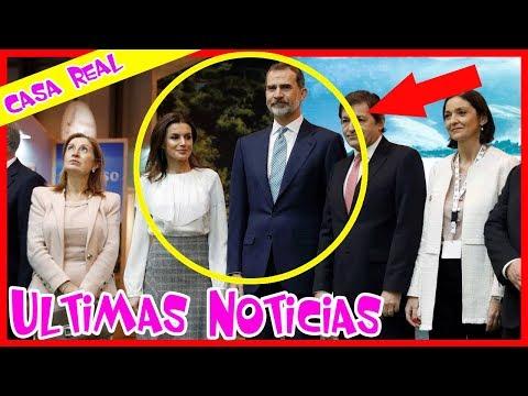 TRISTE NOTICIA! - Letizia y Felipe fueron arrestados en la Feria Internacional de Turismo (Fitur)
