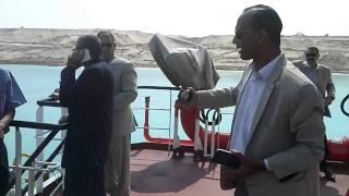 هانى عبد الرحمن أعلى قاطرة يكشف تفاصيل القناة الجديدة لقيادات القابضة للنقل البحرى