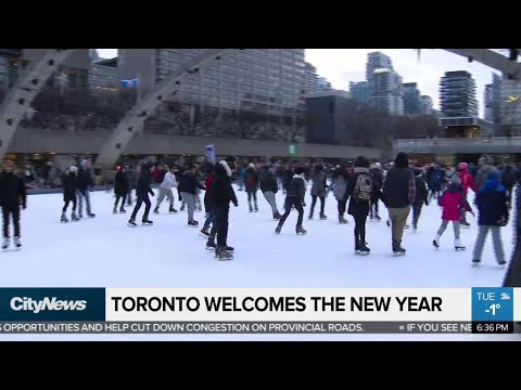 Toronto Welcomes The New Year