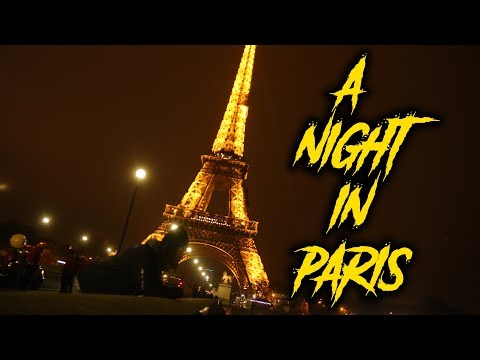 THIS IS APPARENTLY ILLEGAL TO DO IN PARIS ?!?! A NIGHT OUT IN PARIS VLOG