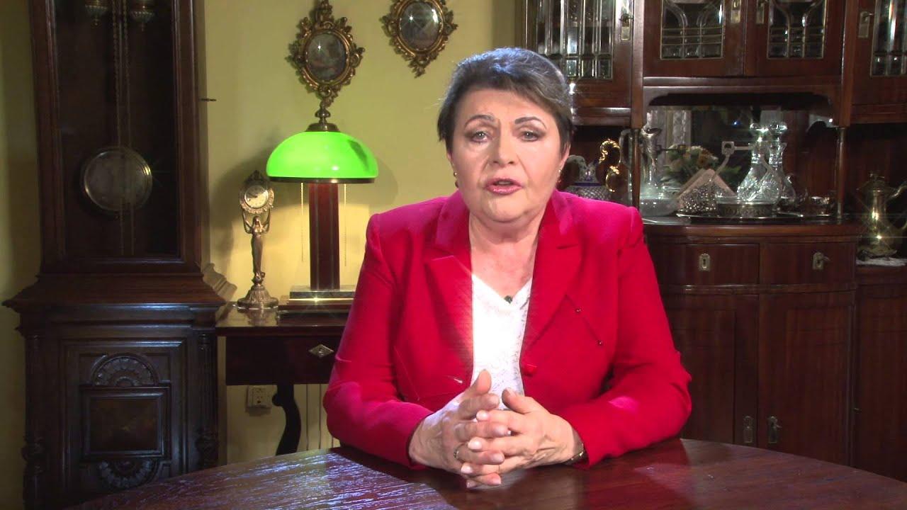 Elżbieta Więcławska-Sauk Elbieta WicawskaSauk do wyborcw YouTube