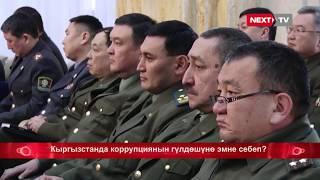 Кыргызстанда коррупциянын гүлдөшүнө эмне себеп?