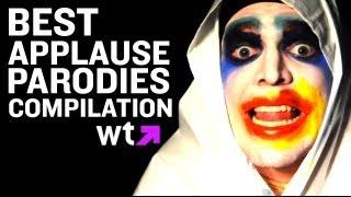 Lady Gaga Applause Parody Compilation