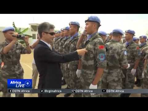 3rd Chinese Battalion honored in Juba