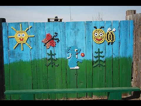 Декор для сада из старой бочки своими руками. The decor for the garden of the old barrels