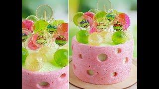 Карамельный декор. Японский заварной бисквит\ Caramel decor. Japanese custard sponge cake