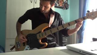 Joy Division - They Walked in Line  Bass Cover