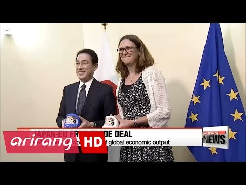 Japan, EU set to seal FTA
