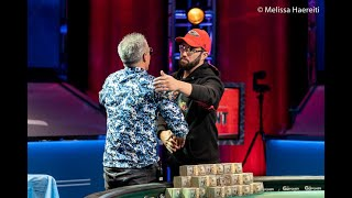 2020 WSOP Main Event Headsup Championship Runner-Up Joseph Hebert