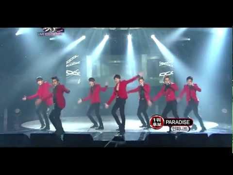111014 - Infinite - Paradise @ Music Bank