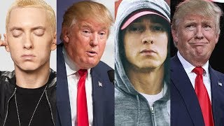 Eminem GOES OFF on Trump During Show in Scotland