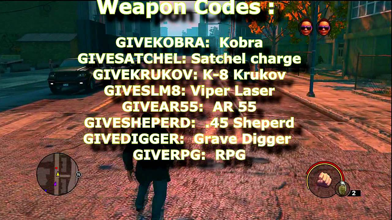 <b>Saints Row 3</b> :All <b>Cheat Codes XBOX360</b>/PS3 - YouTube
