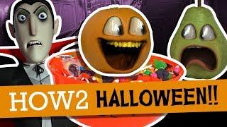 Annoying Orange - Halloween How2 Episodes!!! (Supercut)