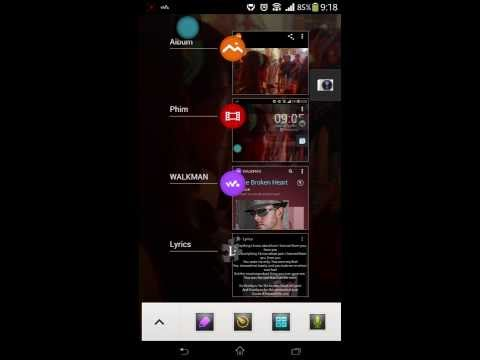 SONY Small Apps/Taskswitcher Plugin Xperia Z1 Port For Xperia TX