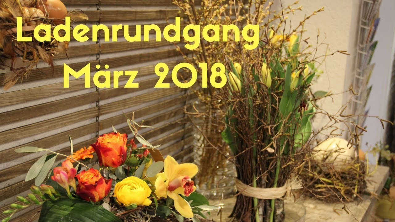 Deko Flora Line ladenrundgang märz 2018 flora line blumengeschäft